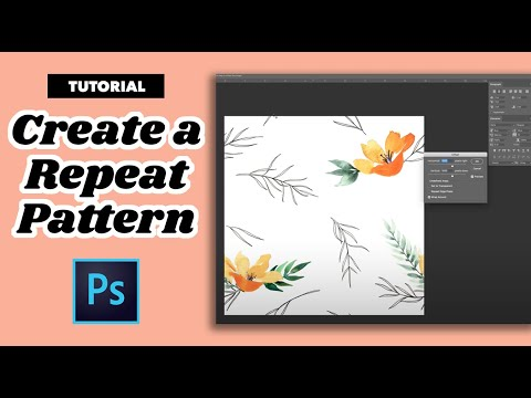 How To Create A Repeat Pattern In Photoshop
