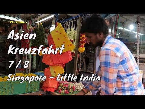 Kreuzfahrt Asien - Singapur 6/7 - Little India - Mein Schiff 1 - Cruise Asia - Ph_Video