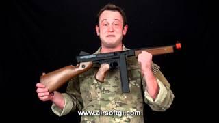 Airsoft GI - World War 2 Airsoft Guns Overview - Kar 98, Mp40, MP44, Thompson, M3, Sten, Luger