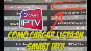 Como Cargar Playlist en Smart IPTV