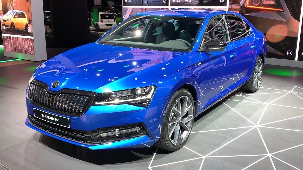 Skoda Superb Sportline 2020 Facelift First Look Exterior