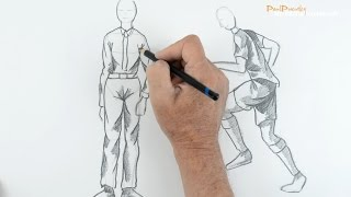 Draw a person wearing clothes: Beginners