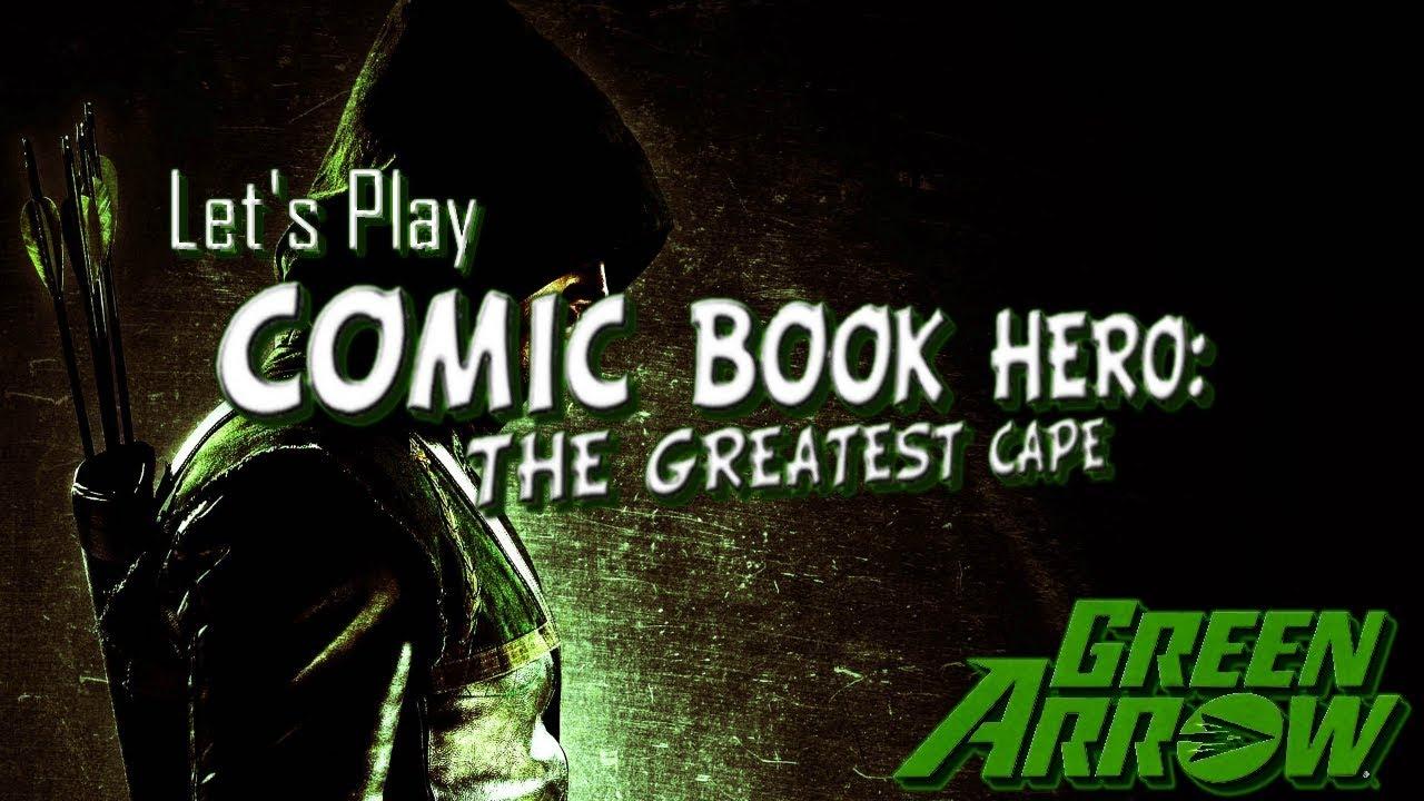 Comic Book Hero The Greatest Cape
