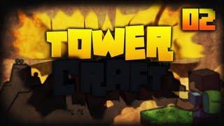 TowerCraft #2 - Primeiras Maquinas :D