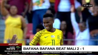 Bafana beat Mali 2-1