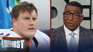 Cris Carter is concerned for the Raiders after signing Richie Incognito | NFL | FIRST THINGS FIRST