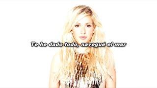 Seven Lions feat. Ellie Goulding - Don't Leave (Español/Lyrics)