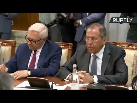 Переговоры Сергея Лаврова с госсекретарём США Майком Помпео