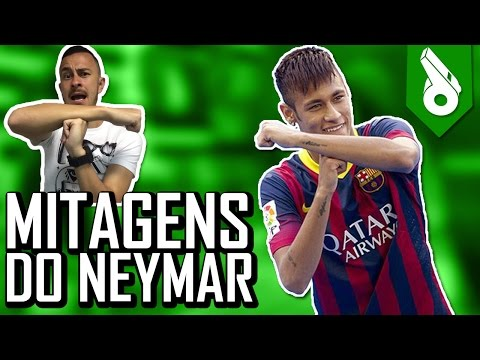 Top 10 mythical moments of Neymar! Tricks and goals! - FRED + 10