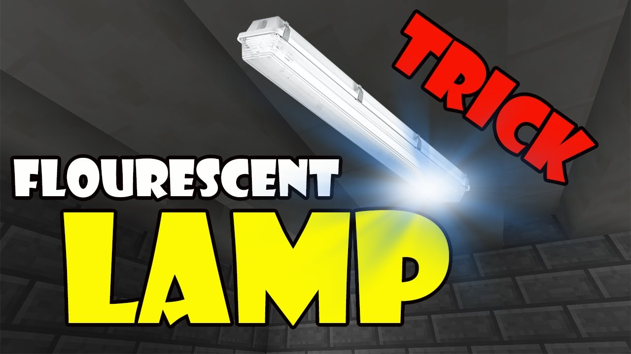 how to make a lamp in minecraft pe