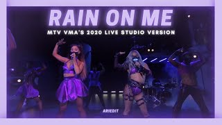 Download lagu Lady Gaga, Ariana Grande - Rain On Me (VMAs Live Studio Extended Version w/ note changes)