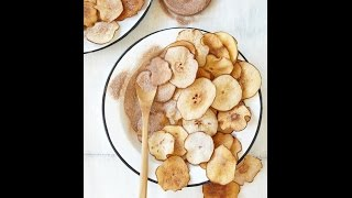 Terras Kitchen Easy Cinnamon Pear Chips