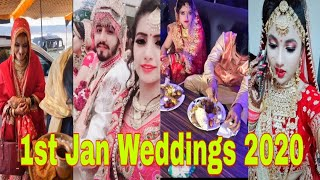 😘Best Indian wedding tik tok video 2020 l❤️ 1st Jan Weddings🤗 tik tok video 2020 l🌹👍 PART-2