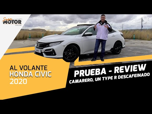 Al volante del Honda Civic 2020 / Review Honda Civic Sport Plus / SuperMotor.Online / T5 - E40