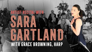 Artist Recital with Sara Gartland