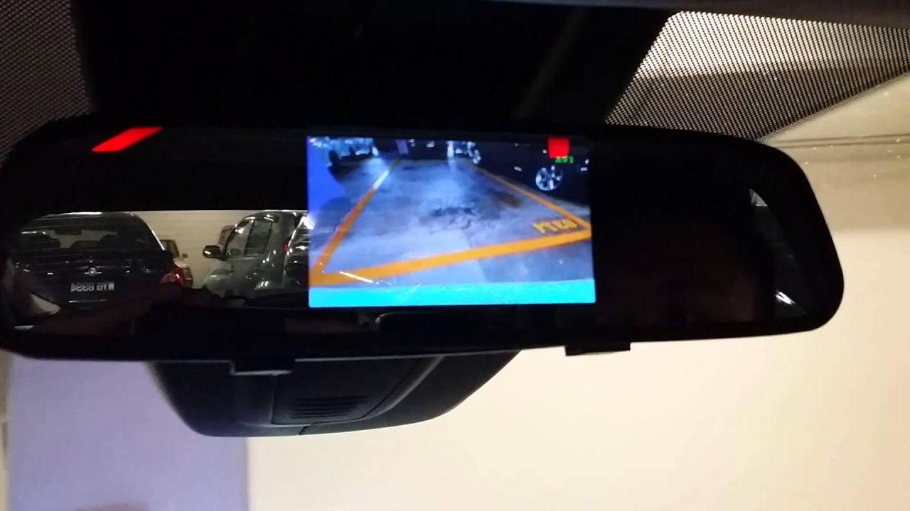 Ford Focus Kuga Fiesta Reverse Camera Youtube