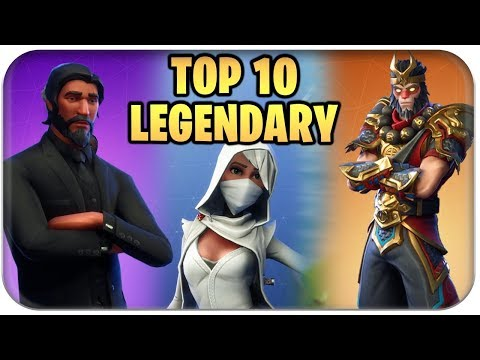 TOP 10 🏅 BESTE LEGENDARY SKINS | Fortnite Battle Royale Best Of Deutsch German