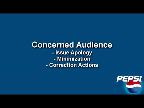 Matthew Tilson - Crisis Communication Video (Pepsi)