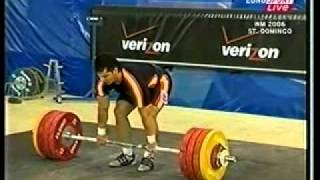 2006 World Weightlifting 94 Kg Clean and Jerk xvid