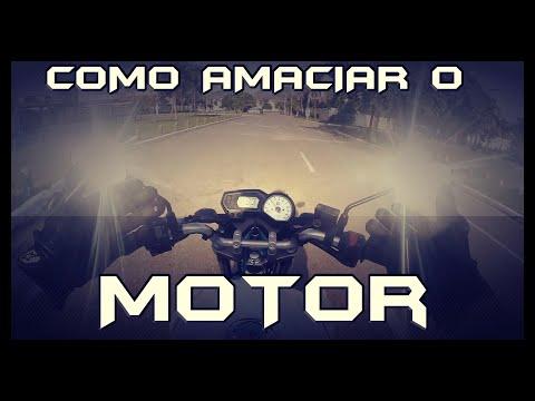 COMO AMACIAR O MOTOR - NA PRÁTICA!!
