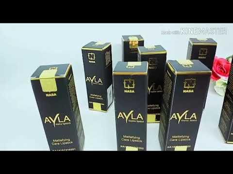 tutorial-lipstik-terbaru-ayla-nasa-anti-luntur-dan-tahan-lama/083842636179