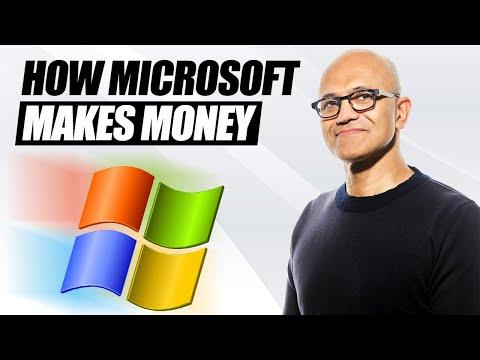 How Does Microsoft Make Money? (Not Bill Gates's Microsoft Anymore)