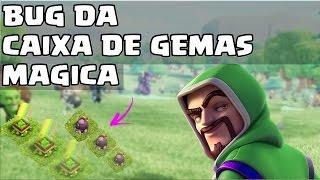 COMO FAZER O BUG DA CAIXA DE GEMAS MAGICA NOS OBSTÁCULOS - CLASH OF CLANS