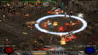 Path of Diablo S7 (Diablo 2 mod) - HC Druid 1 part 13 (hell) ► 1080p 60fps No commentary