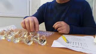 Сборка светодиодной люстры с дистанционным управлением. Как собрать люстру?