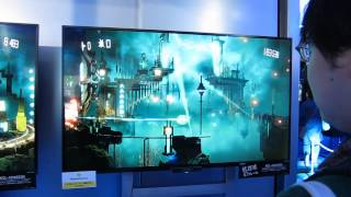 RESOGUN - Horizontal Shooter for SONY PS4 Tokyo Game Show 2013