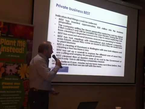 Francis Steyn - CSIR perspective on water in South Africa - May 2013.