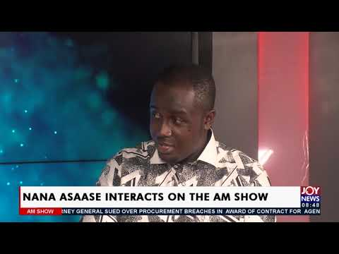 Nana Asaase Interacts on the AM Show - AM Showbiz on Joy News (9-9-21)
