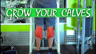 EXERCISES TO GROW YOUR CALVES