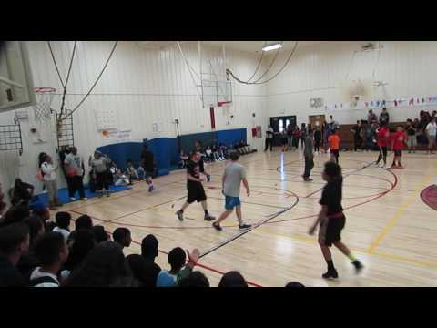 Edna Brewer Middle School Faculty VS Eighth Grade Students - June 1, 2017