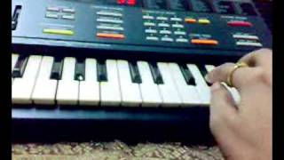 Haule Haule on keyboard by Suraj