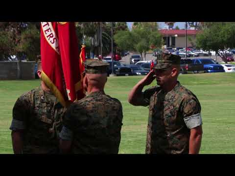 DFN:H&S Bn. Change of Command prime cuts (Broll) CAMP PENDLETON, CA, UNITED STATES 07.12.2018
