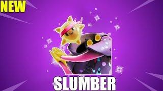 FORTNITE SLUMBER SKIN w/ALL FORTNITE DANCE EMOTES