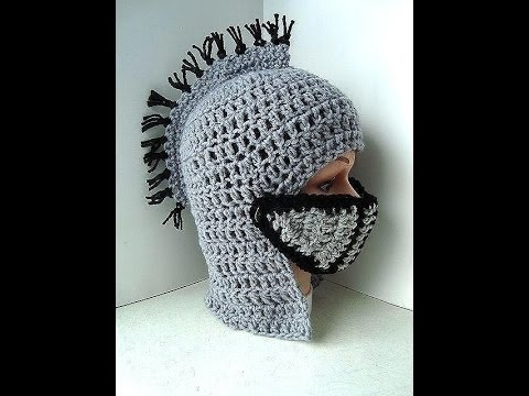 Diy Knights Helmet Hat Free Crochet Tutorial King Arthurs Court