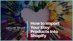How to set up a Shopify store and import Etsy products in 4 minutes