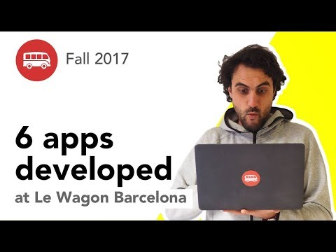 6 Apps Developed At Le Wagon Barcelona Coding Bootcamp - Batch #113
