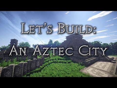 Let's build: An Aztec City (Chicometaca) - Ep24