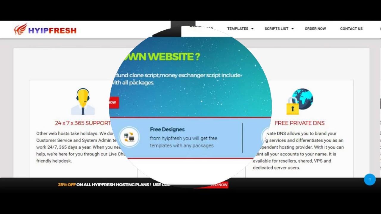 Хостинг для hyip-сайтов как сделать сайт вконтакте доступным