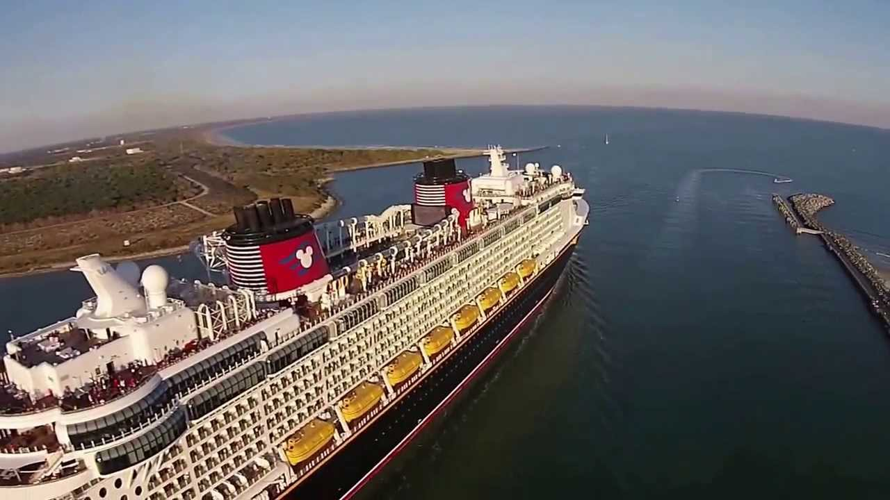 Disney Fantasy Departing Port Canaveral  YouTube