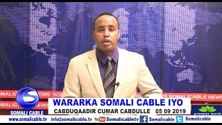 WARARKA SOMALI CABLE IYO CABDUQAADIR CUMAR CABDULLE 05 09 2019
