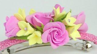 Цветы из салфеток своими руками.Легко и просто.Цветы из Фоамирана-Веночек МК Поделки с детьми!