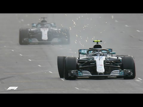 Top Five Moments | 2018 Azerbaijan Grand Prix