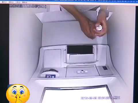 [New Scam] Man pour drinks to steal cash from ATM machine