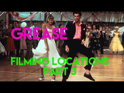 Grease Filming Locations Then And Now Part 3 | Huntington Park High School | Ultimatic Grease Tour