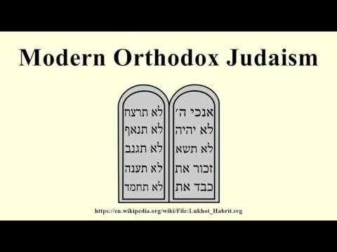 Modern Orthodox Judaism