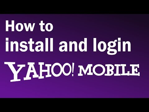 How To Install And Login To Yahoo Mobile | Yahoo Mail Login Mobile - 2019